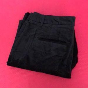 White House Black Market velvet ankle pants